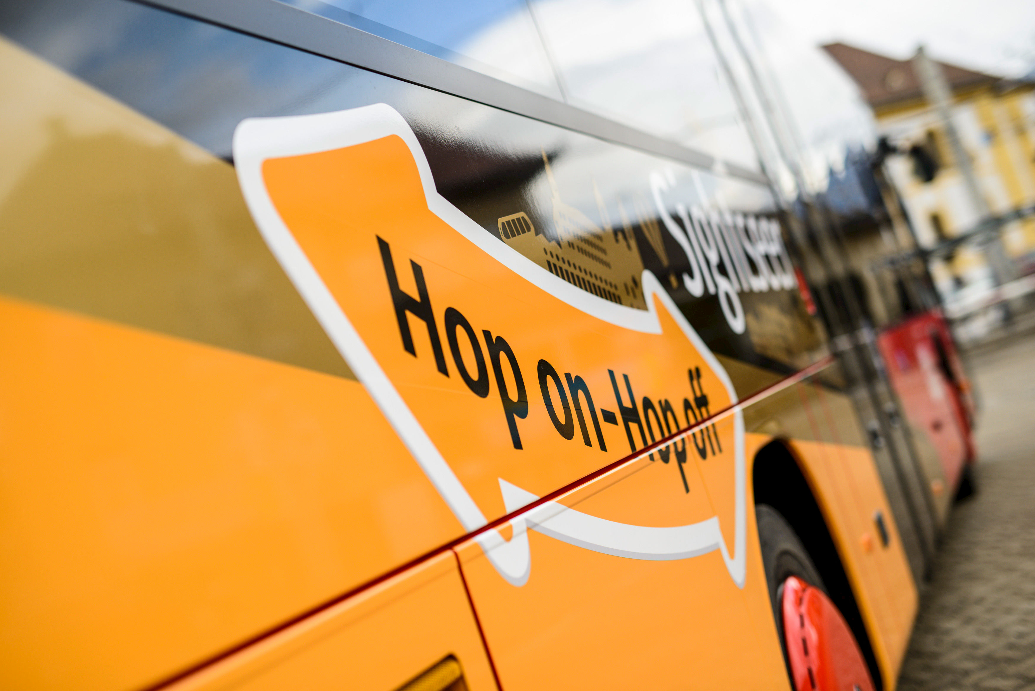 Photo: Sightseer bus – Hop on-Hop off